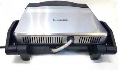 Гриль Rainberg RB-5406 для барбекю з лотком для рідини 1500Вт Чорний (11262)
