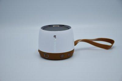 Беспроводная колонка Hopestar H17 аккумуляторная + Bluetooth 4.0, встроенное радио и поддержка MP3, WMA Белая (11331)