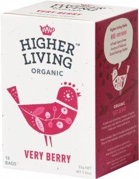 Чай Higher Living фруктовый органический Very Berry 15 пакетиков (5060319120047)