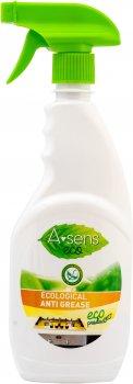 Упаковка экологического средства для чистки кухни A-Sens Eco Анти-жир с распылителем 500 мл х 12 шт (4820167004828)