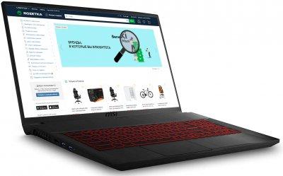 Ноутбук MSI GF75 Thin 10SCXR (GF7510SCXR-267XUA) Black