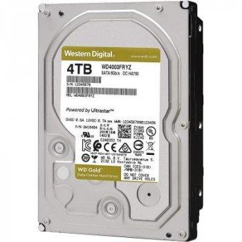 """Жорстку диск 3.5"""" 4TB WD (WD4003FRYZ)"""