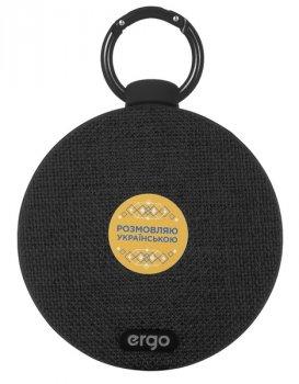 Портативна акустична система ERGO BTS-710 BLACK ORIGINAL