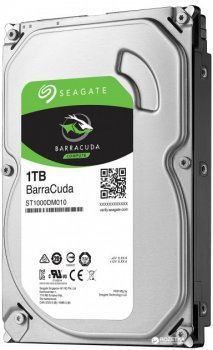 "Жорсткий диск 3.5"" 1Tb Seagate BarraCuda, SATA3, 64Mb, 7200 rpm (ST1000DM010)"