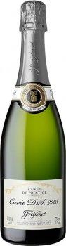 Вино ігристе Freixenet Cava Cuvee Vintage D.S. біле брют 0.75 л 11.5% (8410036008185)