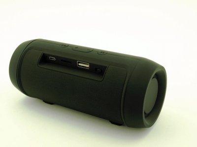Акустическая портативная система Bluetooth колонка T&G Charge Mini, c функцией громкая связь и FM радио. Черная