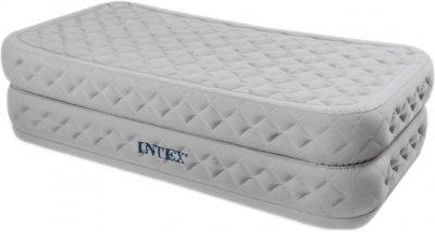 Надувне велюр-ліжко Intex 64488 191х99х51 см