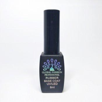 База каучуковая для ногтей Global Fashion 8мл