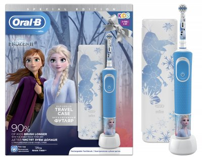Електрична зубна щітка ORAL-B BRAUN Stage Power/D100 Frozen Gift Limited Edition (4210201310327)