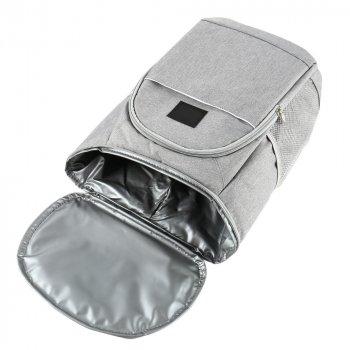 Термосумка-рюкзак Kronos BAG-1 18 л Сірий (gr_011283)