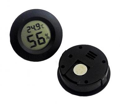 Термометр Kronos гигрометр круглой формы 40 мм (bks_01491)