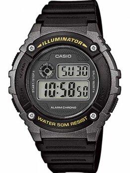 Чоловічий наручний годинник Casio W-216H-1BVEF
