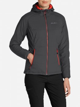 Куртка Eddie Bauer IgniteLite Flux Stretch Hooded Jacket 0030CN Серая