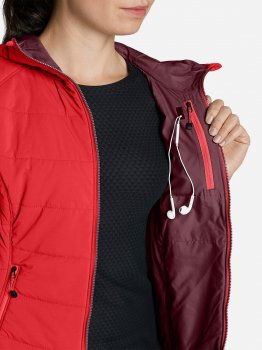Куртка Eddie Bauer IgniteLite Flux Stretch Hooded Jacket 0030CAR Красная