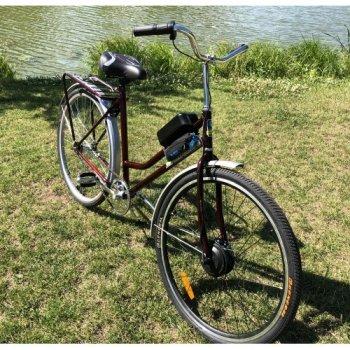 Электровелосипед Uvolt Украина Плюс Mb-36-500 28 Дюймов Бордовый