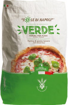 """Італійське борошно для піци Molino di Pordenone """"Верде (Зелене)"""" 25 кг"""