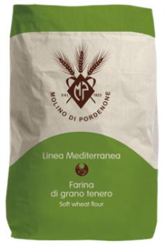 """Італійське борошно з м'яких сортів пшениці Molino di Pordenone """"Манітоба"""" 25 кг"""