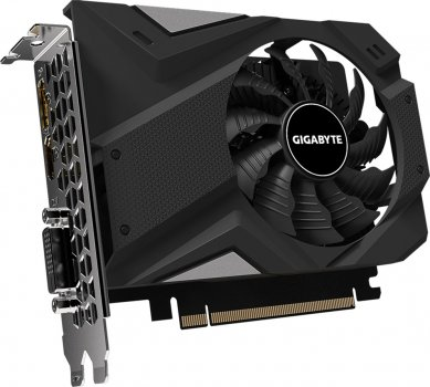 Gigabyte PCI-Ex GeForce GTX 1650 D6 OC 4GB GDDR6 (128bit) (1590/12000) (DVI-D, HDMI, DisplayPort) (GV-N1656OC-4GD)