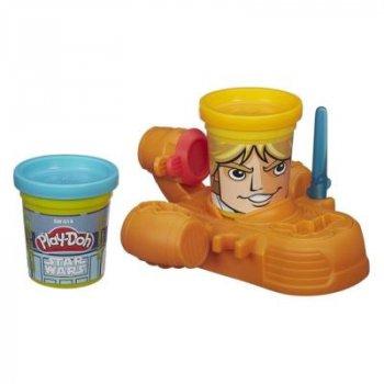 Набор пластилина Play-Doh Звездные войны Люк Скайуокер и R2-D2 (B0595EU4-1)