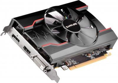 Sapphire PCI-Ex Radeon RX 550 Pulse 2GB GDDR5 (64bit) (1206/6000) (DVI-D, HDMI, DisplayPort) (11268-21-20G)