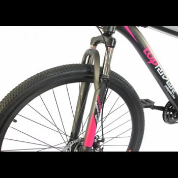 Электровелосипед Uvolt Toprider Mb-48-1000 29 Дюймов Черно-Розовый