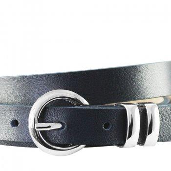 Ремень женский Lindenmann The art of belt 4604 108 см синий (1186)