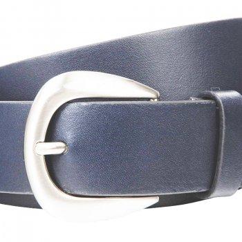 Ремень женский Lindenmann The art of belt 40132 108 см синий (1189)