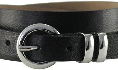 Ремень женский Lindenmann The art of belt 4604 108 см черный (1184)