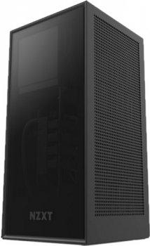 Корпус NZXT H1 Mini-ITX Case with 650 W Power Supply & 140 мм AIO Liquid CPU Cooler Matte Black (CA-H16WR-B1-EU)
