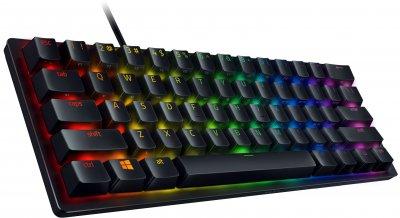Клавиатура проводная Razer Huntsman mini Purple Switch ENG (RZ03-03390100-R3M1)