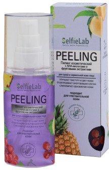 Пилинг SelfieLab с АНА-кислотами и фруктовыми экстрактами для сухой и нормальной кожи 60 г (4813360001992)
