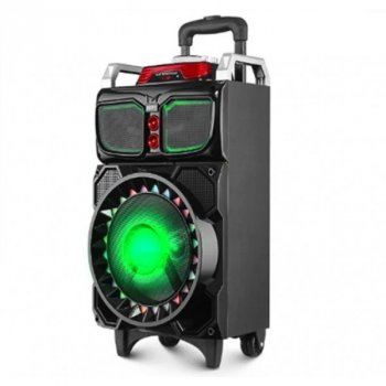 Акустична система колонка RX-1060 Bluetooth СИСТЕМА КАРАОКЕ , акустика , домашній кінотеатр , колонки ,музичний центр ,портативна акумуляторна колонка