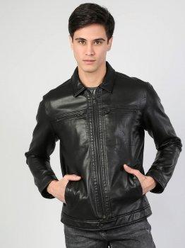 Куртка из искусственной кожи Colin's CL1045424BLK