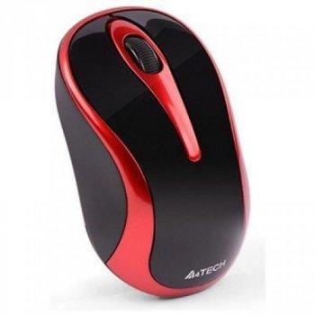 Мишка A4tech G3-280N Black-Red