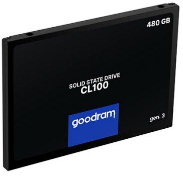 """Goodram SSD CL100 Gen.3 480GB 2.5"""" SATA III 3D NAND TLC (SSDPR-CL100-480-G3)"""