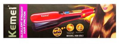 Утюжок выпрямитель для волос Kemei ZFQ-KM-6863