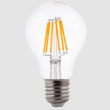 LED лампа филаментная Ilumia 6W Е27 A60 3000К теплий 600Lm (059)