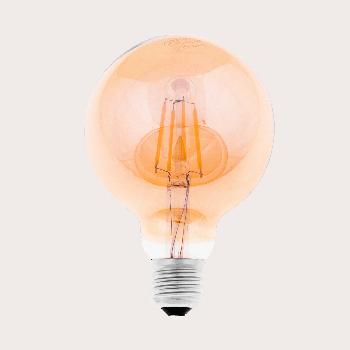 LED лампа филаментная Ilumia 6W Е27 G95 2300К теплий 600Lm (086)