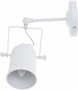 Настінно-стельовий світильник Brille KWS-02 E27 WH (48-118)