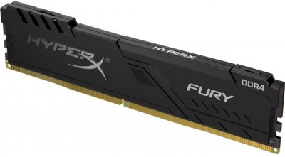 Оперативна пам'ять HyperX DDR4-3200 16384 MB PC4-25600 Fury Black (HX432C16FB4/16)