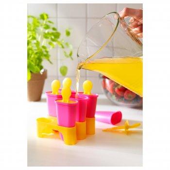 Прессформа для мороженого IKEA CHOSIGT разные цвета (802.084.78)