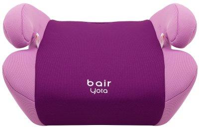 Дитяче автокрісло-Бустер для дітей від 6 до 12 років Bair Yota Вага дитини 22-36 кг DY1822 Фіолетовий