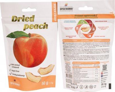 Упаковка персиків сушених Spektrumix 4 шт. х 50 г (2859800014940)