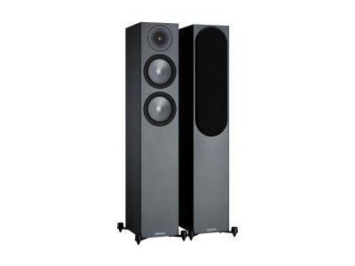 Напольная акустическая система Monitor Audio Bronze 200 Black (6G)