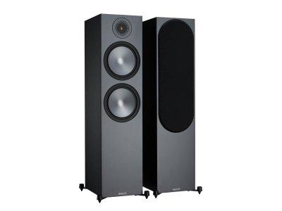 Напольная акустическая система Monitor Audio Bronze 500 Black (6G)