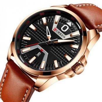 Наручний годинник AlexMosh чоловічі Curren Cuprum-Black-Brown (2010)