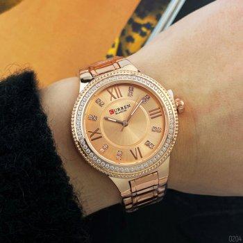Наручний годинник AlexMosh жіночі Curren Cuprum