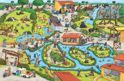 Зоопарк. Віммельбух - Каролін Гьортлер (9786177395026)