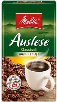 Жареный молотый кофе Melitta Auslese klassisch 500 г (4002720002261)