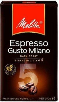 Жареный молотый кофе Melitta Espresso Gusto Milano Arabica 250 г (4002720006399)